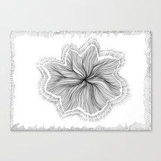Jellyfish Star I B&W Canvas Print