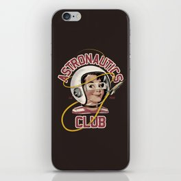 Astro Club (brown) iPhone Skin
