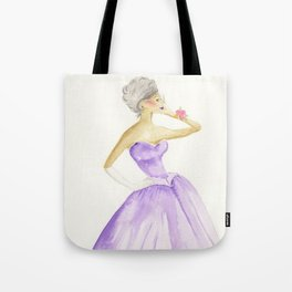 You Cannot Ignore the Color Purple Tote Bag