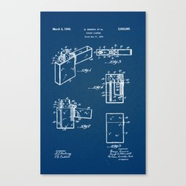 Pocket Lighter Zippo Canvas Print