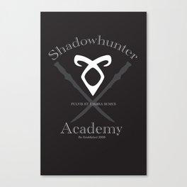 Shadowhunter Academy Canvas Print