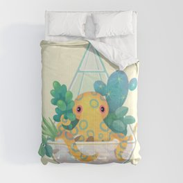 Ocean terrarium - Blue ringed octopus Comforters
