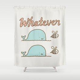 Que Sera Sera Shower Curtain