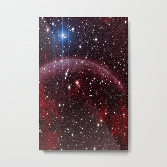 Red Planet Metal Print