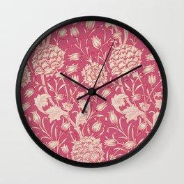 """William Morris """"Wild Tulip"""" 3. Wall Clock"""