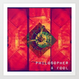 Philosopher & Fool - Satellite Art Print