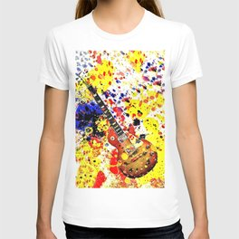 Retro Les Paul guitar T-shirt