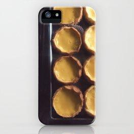 egg tart iPhone Case