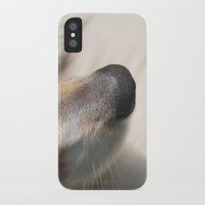 dog nose  Slim Case iPhone X