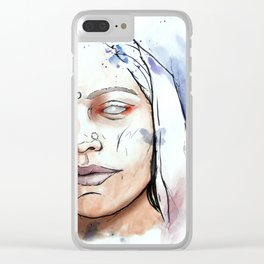 All wars are the same Clear iPhone Case