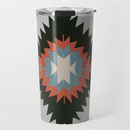 Southwestern Santa Fe Tribal Indian Pattern Travel Mug