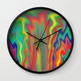 Fire Pit Wall Clock