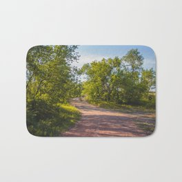 Backroad by the Knife River, North Dakota 2 Bath Mat