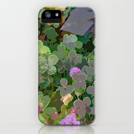 Run for Clover iPhone Case