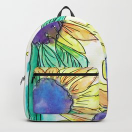 Flowers of the Earth Appear Backpack