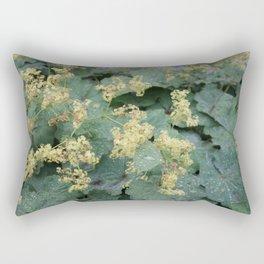 Alchemilla mollis flowers Rectangular Pillow