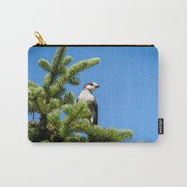 North American Grey Jay Carry-All Pouch