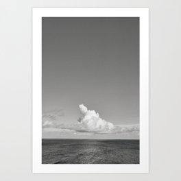 Solitude Coast. Art Print