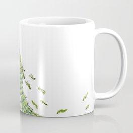 Lizard. Defoliating Coffee Mug