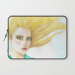 Emily in the Wind Laptop Sleeve