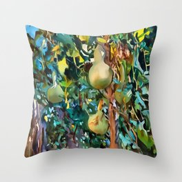 Gourds After John Singer Sargent Throw Pillow