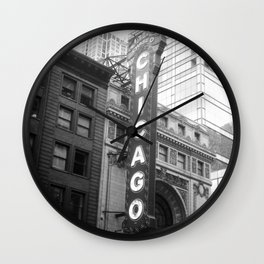 Chicago #3 Wall Clock