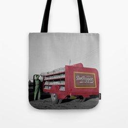 Vintage Dr Pepper Truck Tote Bag