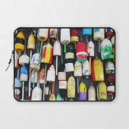 "Captured Photography Salt Series ""Buoys"" Laptop Sleeve"