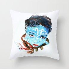 Hindu Boy Throw Pillow