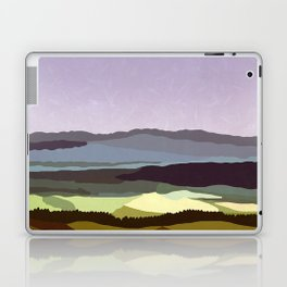 Sunset over the Valley Laptop & iPad Skin