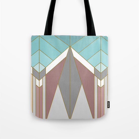 ART DECO G2 (abstract geometric) Tote Bag