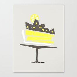 Lemon Pie Canvas Print