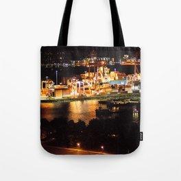Las luces de Vancouver Tote Bag