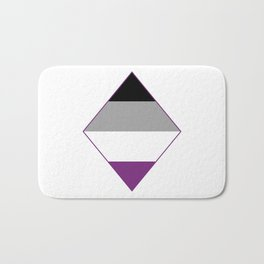 Asexual Diamond Bath Mat