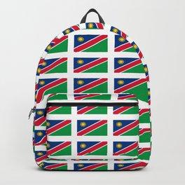 Flag of namibia-namibia,namibian,Windhoek,namibio,Namibiese. Backpack