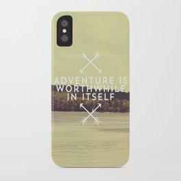 Worthwhile iPhone Case