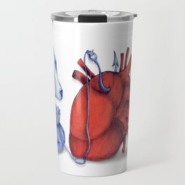 Love is a dog from hell Travel Mug