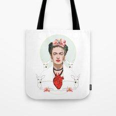 Frida Kahlo (Light) Tote Bag