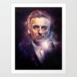 The Twelfth Doctor Art Print