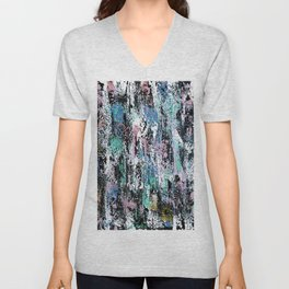 Abstract Gabrielle Unisex V-Neck