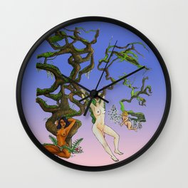 hangin' out Wall Clock