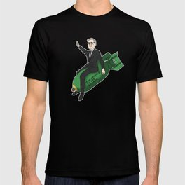 Karl Barth dropping bombs T-shirt
