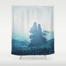 Mist under Uniki Shower Curtain