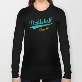 Pickleball Old School Game On Long Sleeve T-shirt