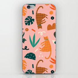 Cats iPhone Skin