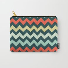 Colorful Chevron 2 Carry-All Pouch
