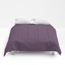 PPG Glidden Pansy Petal (Dark Purple) PPG1177-7 Solid Color Comforters