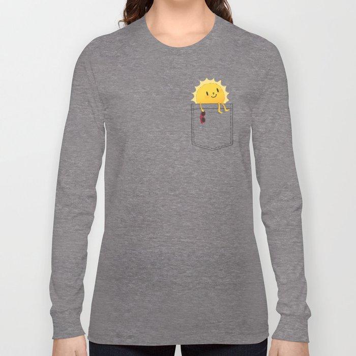 Pocketful of sunshine Langarmshirt