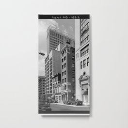 South Calvert Street, Baltimore Metal Print