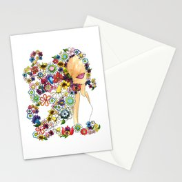 Flower Girl Two Stationery Cards